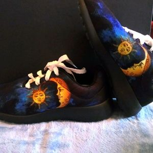 Yes We Vibe Sun and Moon shoes